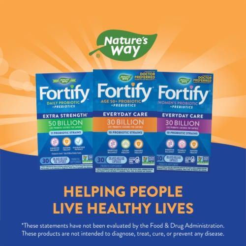 Nature's Way Primadohhilus Fortify Probiotics 50+ Capsules Perspective: left