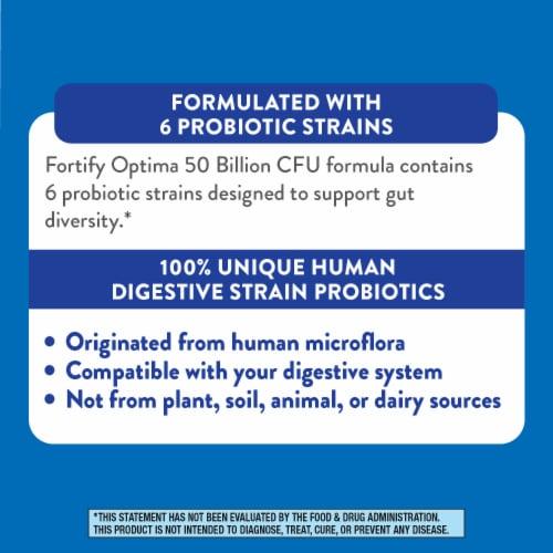 Nature's Way Primadophilus Optima Digestive Balance Probiotic Supplement Perspective: left