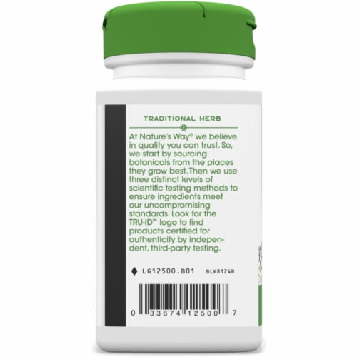 Nature's Way Eyebright Herb Capsules 860 mg Perspective: left