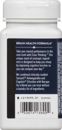 Nature's Way Clear Thinking Dietary Supplement Perspective: left