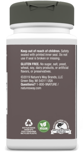 Nature's Way Ginkgold Mental Sharpness Tablets 60 mg Perspective: left