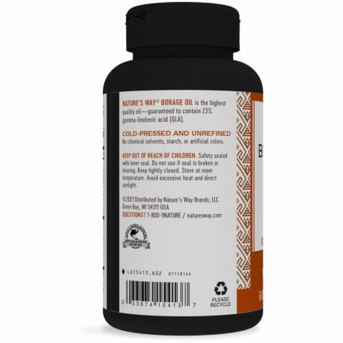 Nature's Way® Efa Gold Borage Softgels 1300 mg Perspective: left