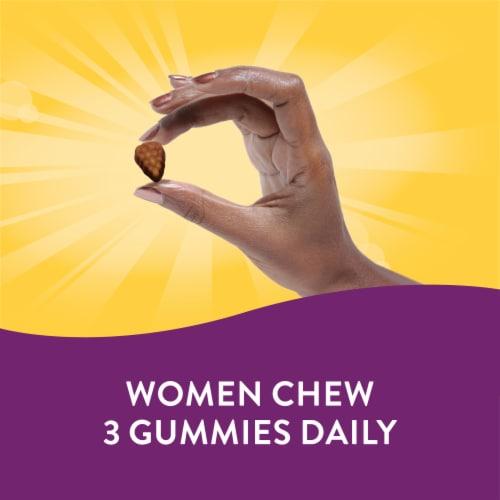 Nature's Way Alive Women's 50+ Orchard Fruits & Garden Veggies Gummy Vitamins Perspective: left