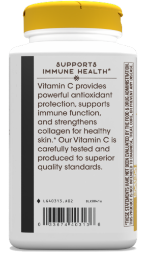Nature's Way Vitamin C Extra Strength Capsules Perspective: left