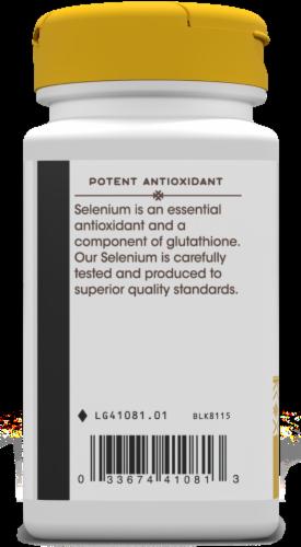 Nature's Way Selenium Yeast-Free Potent Antioxidant Capsules 200mcg Perspective: left