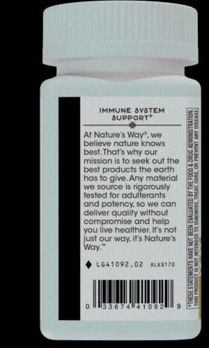 Nature's Way Zinc Lozenges Natural Berry Flavor Perspective: left