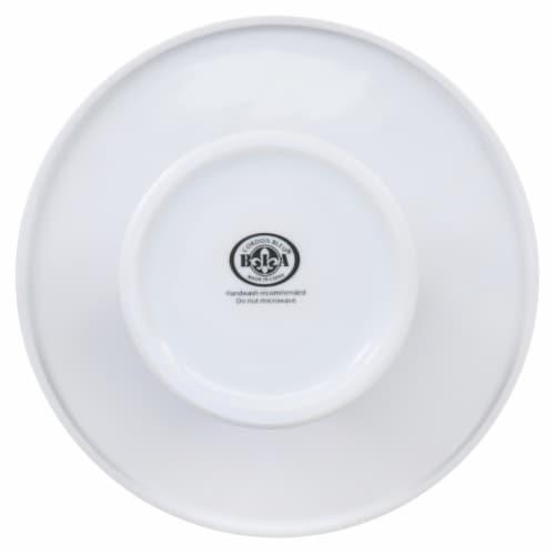 BIA Cordon Bleu Round Porcelain Pedestal Cake Stand Perspective: left