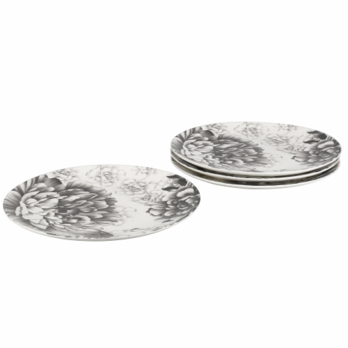 BIA Cordon Bleu Peony Dinnerware Set - Gray Perspective: left