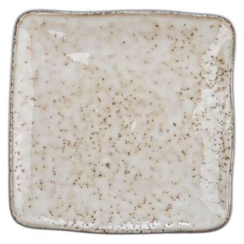 BIA Cordon Bleu Rustico Square Salad/Dessert Plate Perspective: left