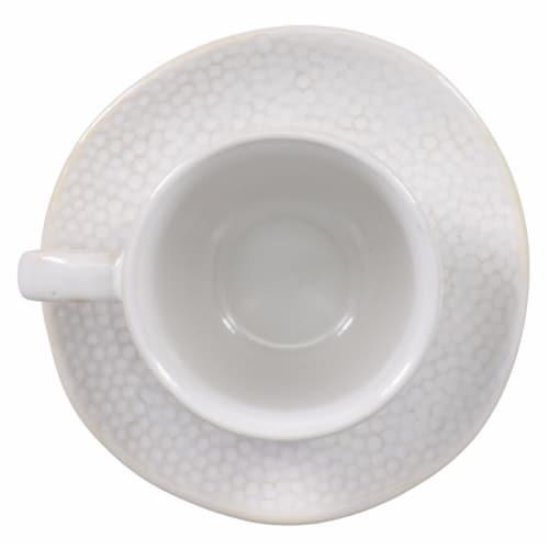 BIA Cordon Bleu Serene Demitasse Cup and Saucer Set - Crème Perspective: left