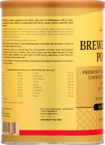 Solgar Brewer's Yeast Powder Perspective: left