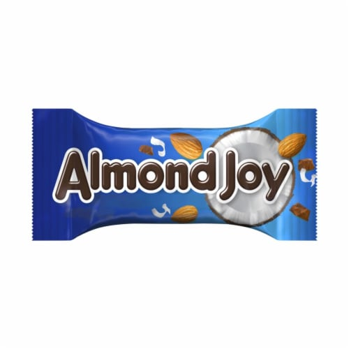 Almond Joy Snack Size Coconut & Almond Chocolate Candy Bars Perspective: left