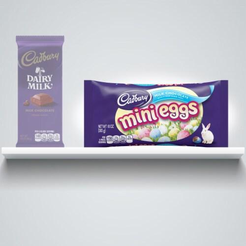 Cadbury Easter Mini Eggs Milk Chocolate Candy Perspective: left
