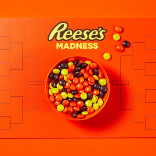 Reese's Pieces Peanut Butter Candy Big Box Perspective: left