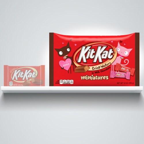 Kit Kat Miniatures Milk Chocolate Candy Perspective: left