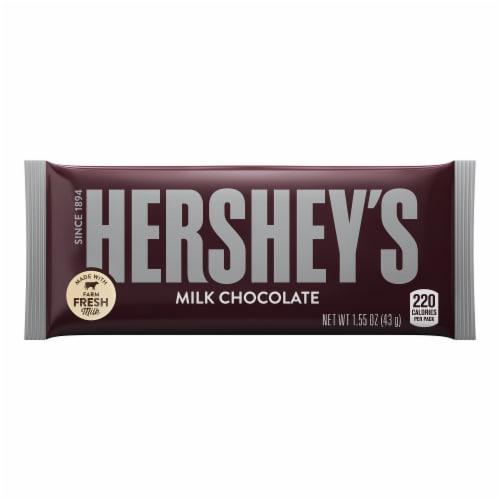 Hershey's Milk Chocolate Bar Perspective: left