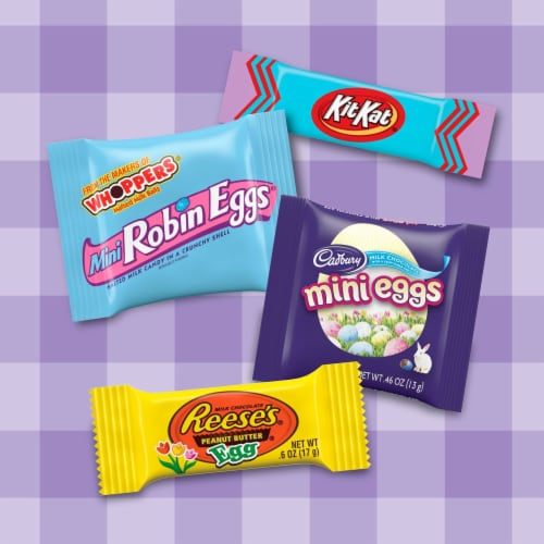 Hershey's Assorted Chocolate Candy Perspective: left