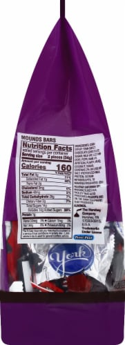 Hershey's Dark Chocolate Lovers Snack Size Candy Assortment Perspective: left