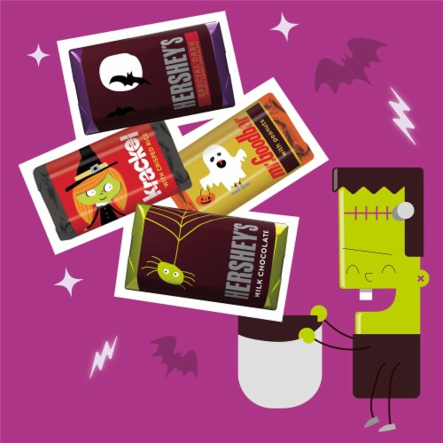 Hershey's Miniatures Assorted Chocolate Candy Perspective: left