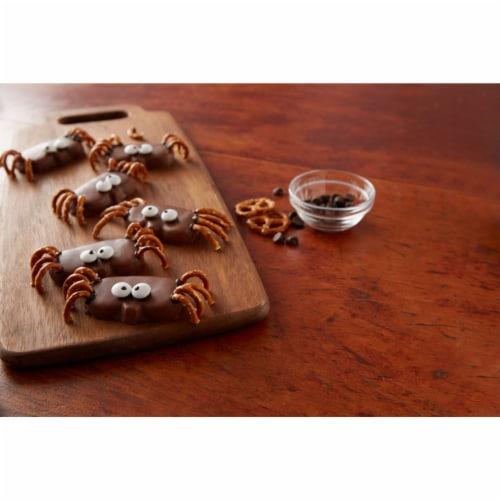 Reese's Halloween Milk Chocolate Peanut Butter Pumpkin Snack Size Candy Perspective: left
