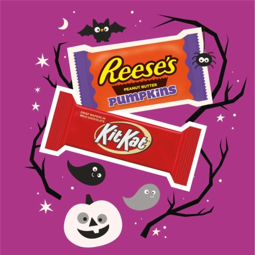 Hershey's Snack Size Candy Assortment Perspective: left