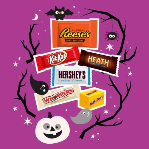 Hershey's Halloween Assortment Candy Perspective: left