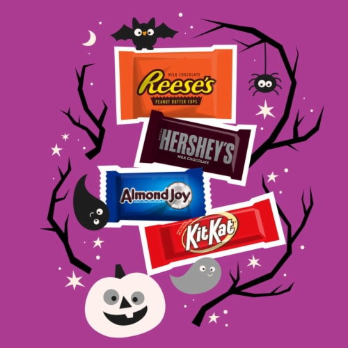 Hershey's All Time Greats Snack Size Candy Assortment Perspective: left