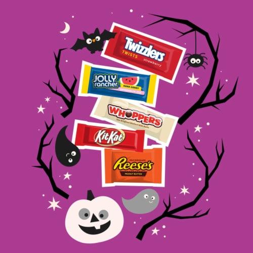 Hershey Halloween Candy Assortment Perspective: left