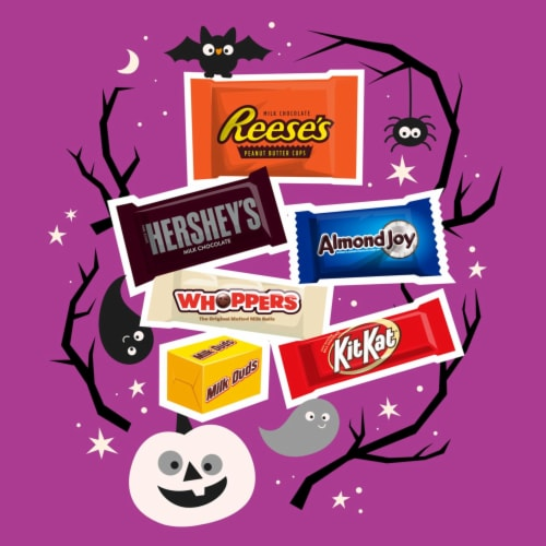 Hershey's All Time Greats Miniatures Candy Assortment Perspective: left