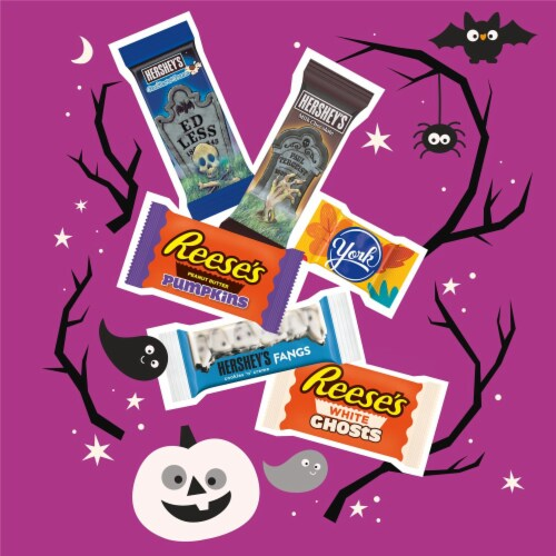 Hershey Spooky Shapes Snack Size Candy Assortment Perspective: left