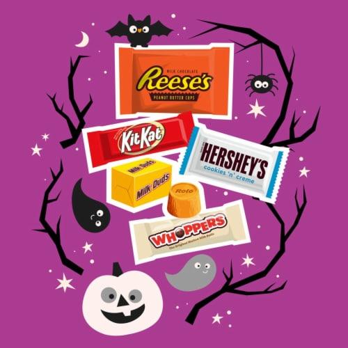 Hershey's Miniatures Halloween Candy Assortment Perspective: left