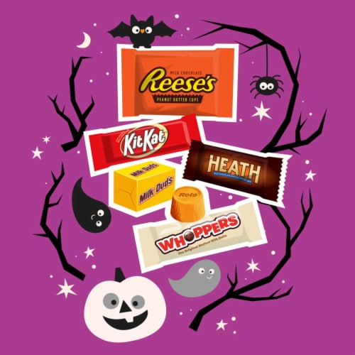 Hershey's Chocolate Miniatures Candy Assortment Perspective: left