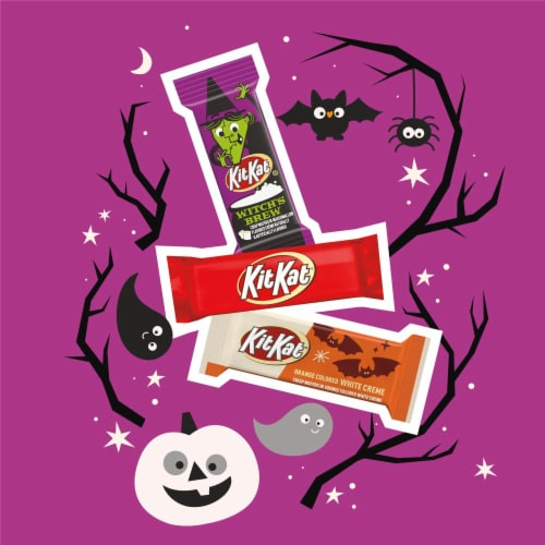 Kit Kat Halloween Lovers Candy Assortment Snack Size Perspective: left