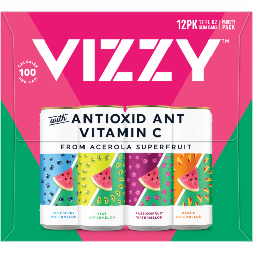 Vizzy™ Watermelon Hard Seltzer Perspective: left