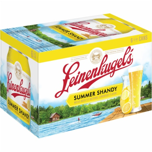 Leinenkugel's Summer Shandy Weiss Beer Perspective: left