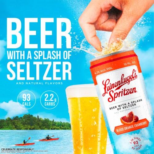 Leinenkugel's Spritzen Beer Variety Pack Perspective: left