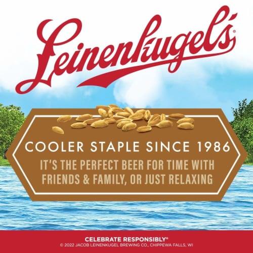 Leinenkugel's Northwoods Lager Beer Perspective: left