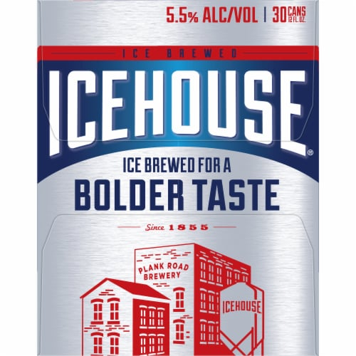 Icehouse American Lager Beer 30 Cans Perspective: left