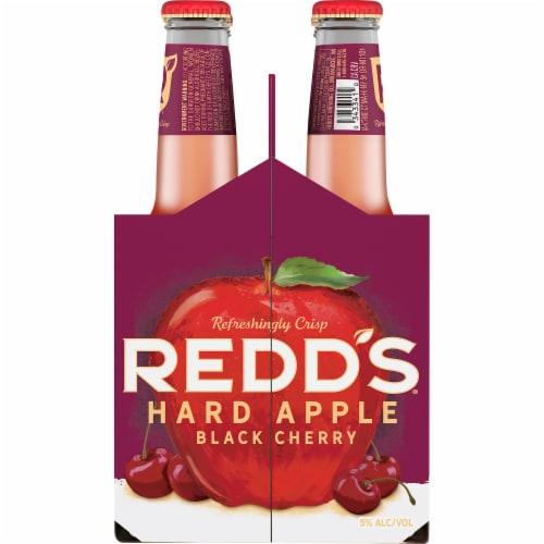 Redd's Seasonal Ale Beer Perspective: left