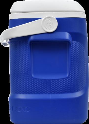 Igloo® Contour™ Blue Cooler Perspective: left