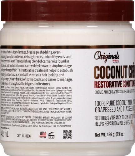 Africa's Best Coconut Creme Restorative Conditioner Perspective: left