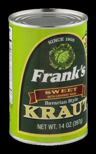Frank's Sweet Bavarian-Style Kraut Perspective: left