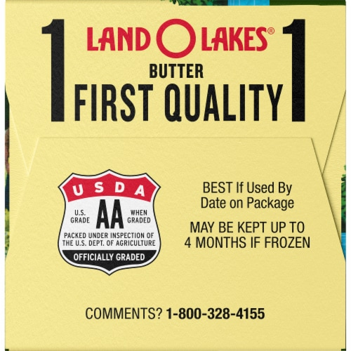 Land O' Lakes Salted Butter Sticks Perspective: left