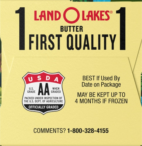 Land O' Lakes Half Stick Salted Butter Perspective: left