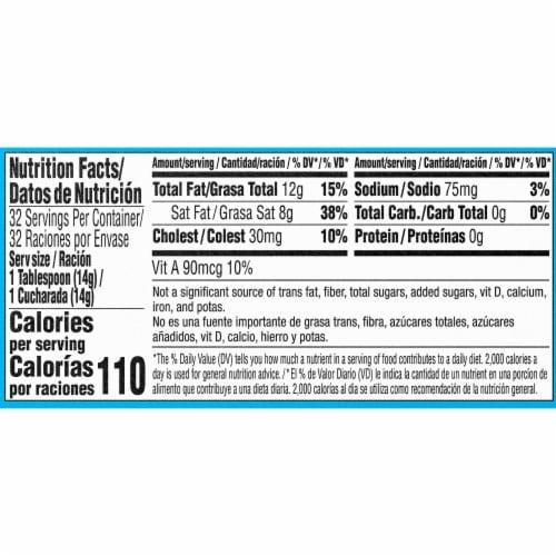 Goya Salted Butter Sticks Perspective: left