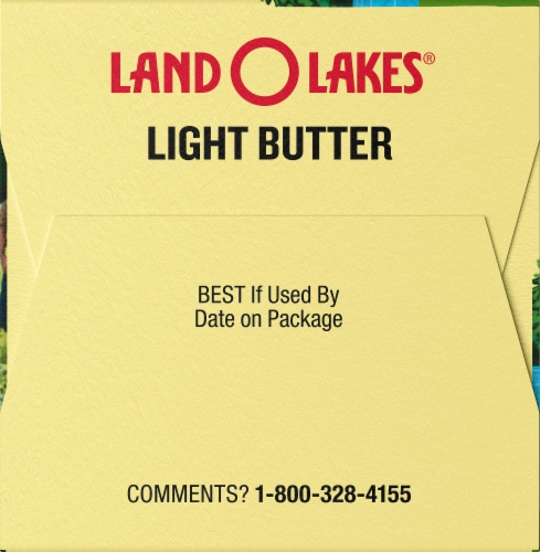Land O' Lakes Salted Light Butter Perspective: left