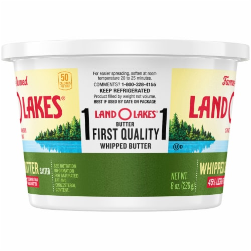 Land O' Lakes Whipped Salted Butter Spread Perspective: left