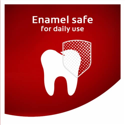 Colgate Optic White Advanced Vibrant Clean Teeth Whitening Toothpaste Perspective: left