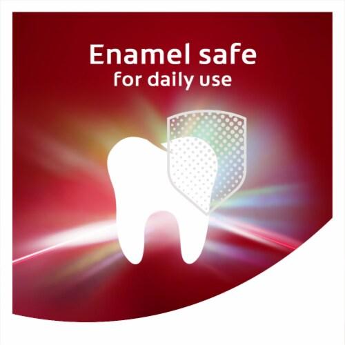 Colgate Optic White Renewal Enamel Strength Teeth Whitening Toothpaste Perspective: left