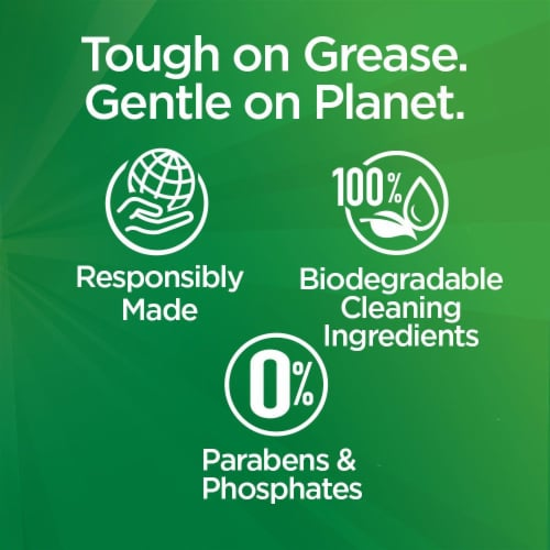 Palmolive Ultra Oxy Power Degreaser Dish Liquid Perspective: left